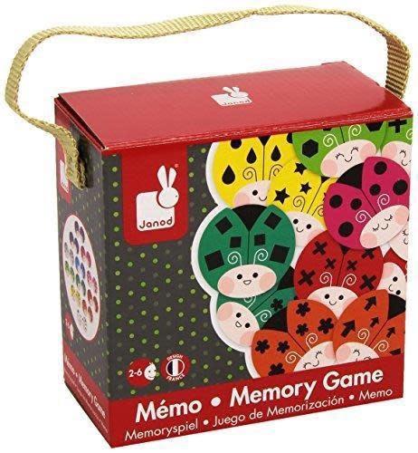 JANOD COCCICOLOR MEMORY GAME