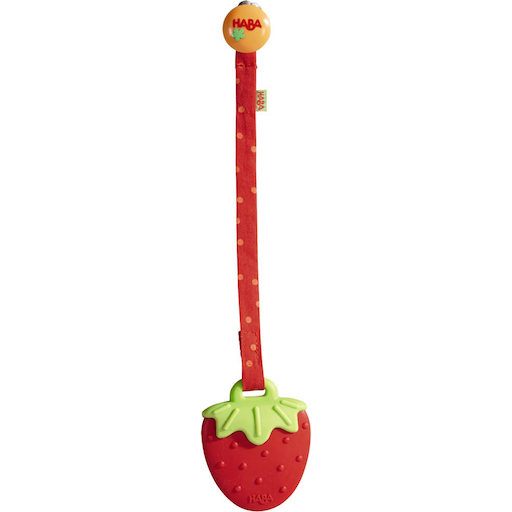 HABA CLUTCHING TOY STRAWBERRY