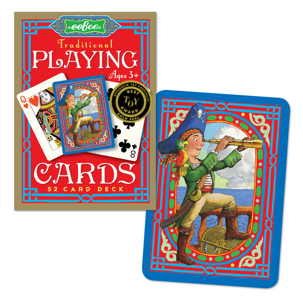 EEBOO PIRATE TRADITIONAL 52 PLAYING CARDS