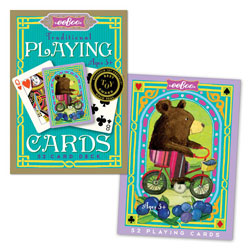 EEBOO BEAR TRADITIONAL 52 PLAYING CARDS