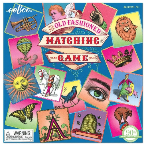 EEBOO OLD FASHIONED MATCHING GAME