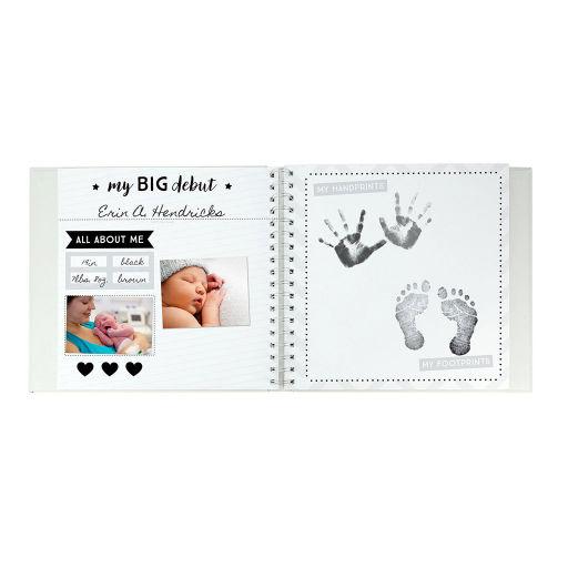 PEARHEAD BABY'S STAR'S MEMORY BOOK & STICKER SET