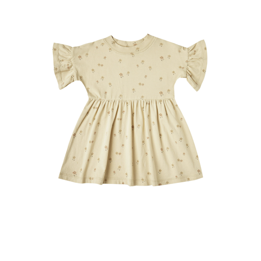 RYLEE AND CRU BABYDOLL DRESS IN TINY FLOWERS