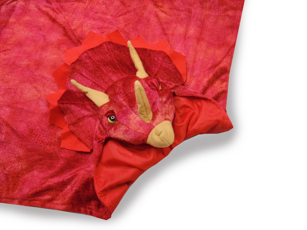 GREAT PRETENDERS TRICERATOPS HOODED CAPE
