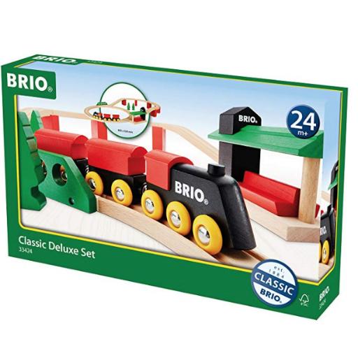 BRIO CLASSIC DELUXE RAILWAY SET
