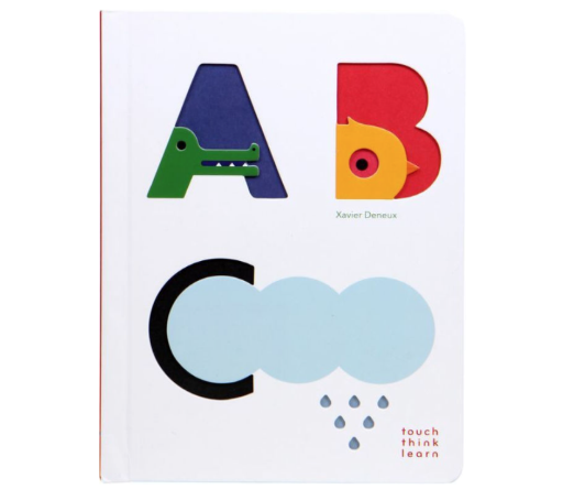 CHRONICLE BOOKS TOUCH THINK LEARN ABC BOOK