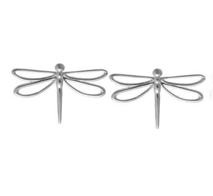 BOMA STERLING SILVER DRAGONFLY STUD EARRING
