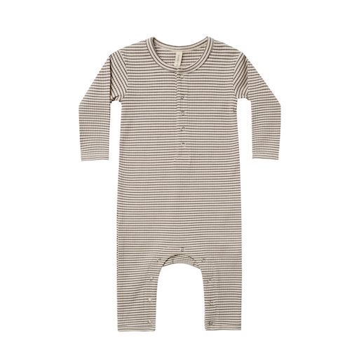 QUINCY MAE ORGANIC RIBBED BABY JUMPSUIT - BB1121692