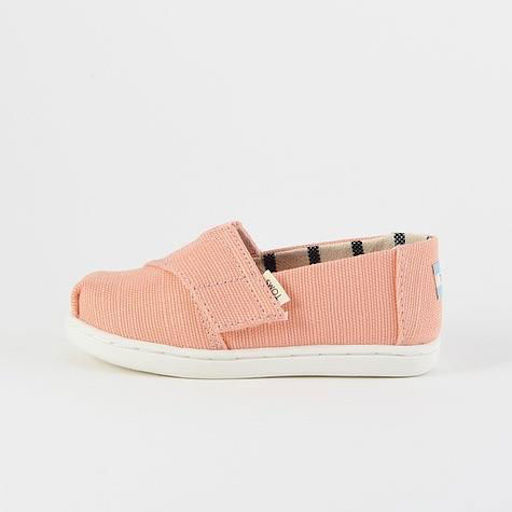TOMS SHOES HERITAGE CANVAS TINY TOMS CLASSICS - BB199885
