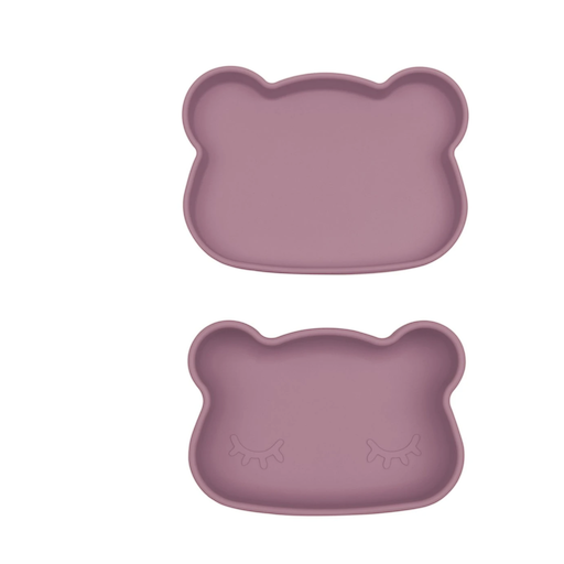 WE MIGHT BE TINY BEAR SNACKIE IN DUSTY ROSE