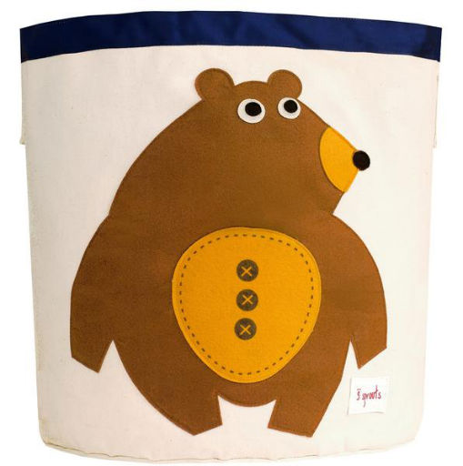 3 SPROUTS 3 SPROUTS BEAR STORAGE BIN