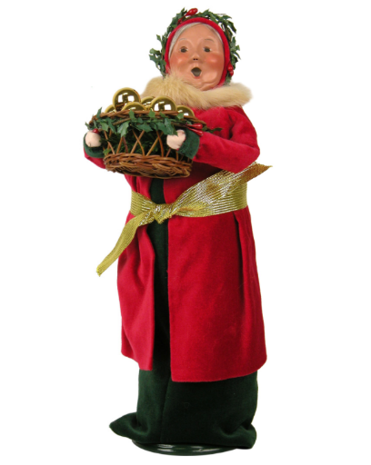 BYERS' CHOICE OLD ENGLISH MRS. CLAUS
