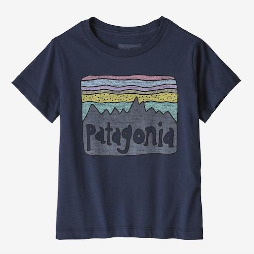 PATAGONIA BABY FITZ ROY SKIES ORGANIC T-SHIRT - BB1119554