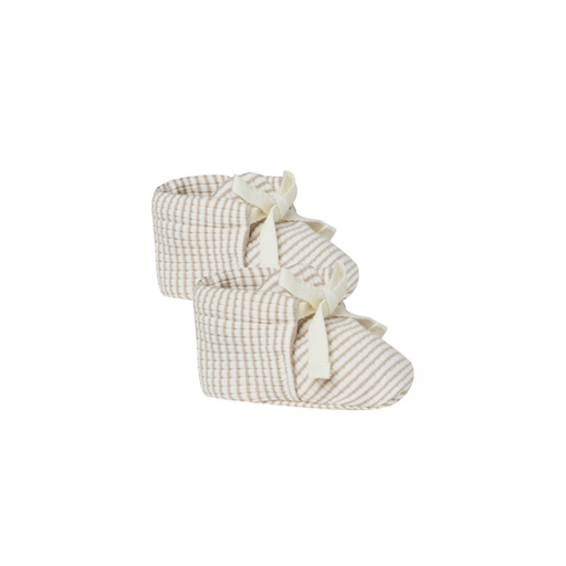 QUINCY MAE RIBBED BABY BOOTIES - BB1121746