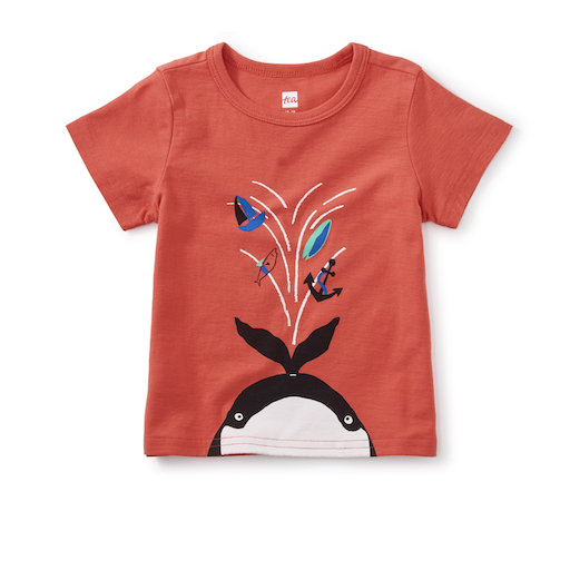 WHALE SPOUT GRAPHIC TEE