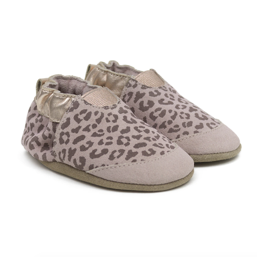 ROBEEZ ANIMAL PRINT SOFT SOLE SHOES