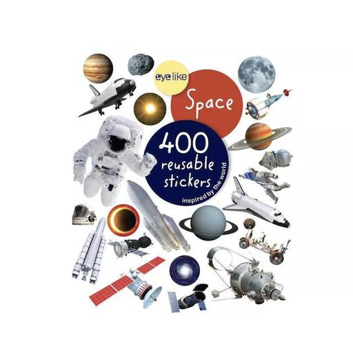 WORKMAN EYELIKE SPACE 400 REUSABLE STICKERS