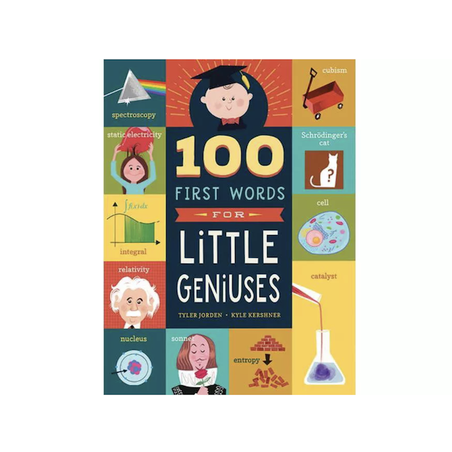 WORKMAN 100 FIRST WORDS FOR LITTLE GENIUSES
