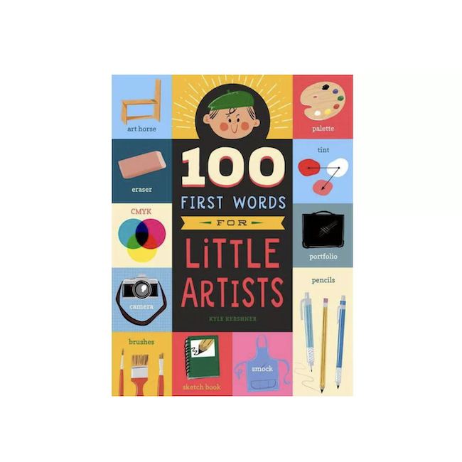 WORKMAN 100 FIRST WORDS FOR LITTLE ARTISTS