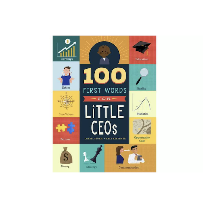 WORKMAN 100 FIRST WORDS FOR LITTLE CEO'S