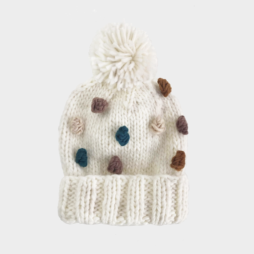THE BLUEBERRY HILL PERCY JEWEL HAND-KNIT HAT