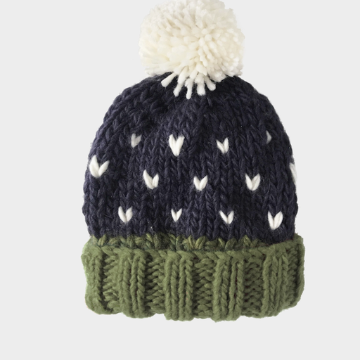 THE BLUEBERRY HILL SHILOH HAND-KNIT HAT