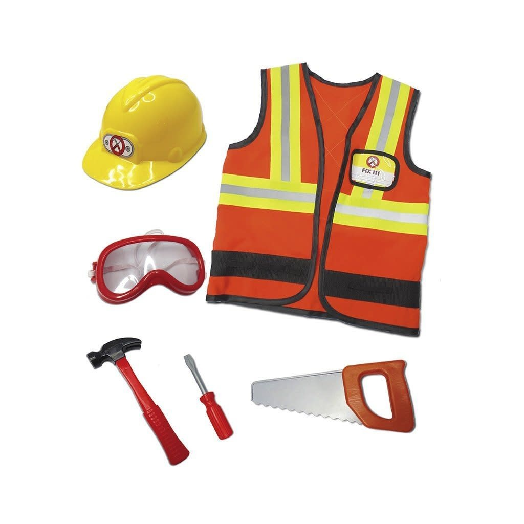 CREATIVE EDUCATION OF CANADA CONSTRUCTION WORKER COSTUME