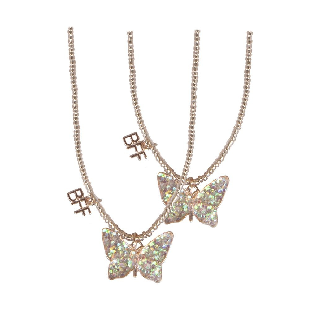 CREATIVE EDUCATION OF CANADA BFF BUTTERFLY SHARE & TEAR NECKLACE