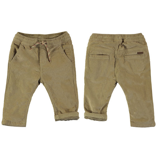 MAYORAL USA MICRO-CORD LINED TROUSERS