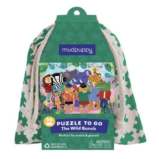HACHETTE MUDPUPPY THE WILD BUNCH PUZZLE TO GO