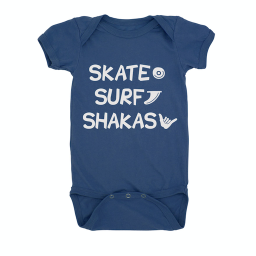 FEATHER 4 ARROW SURF SKATE SHAKAS ONESIE