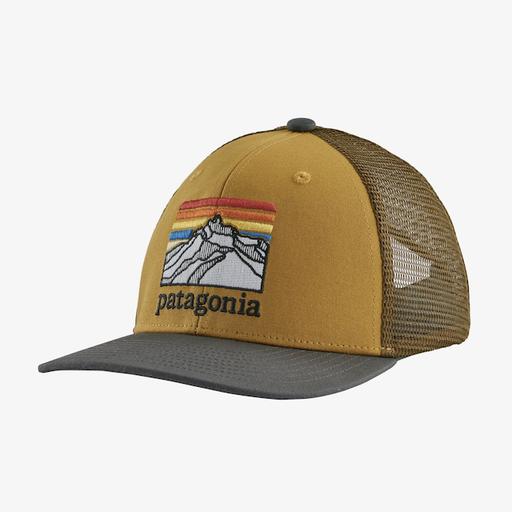 PATAGONIA KIDS TRUCKER HAT-LINE LOGO RIDGE