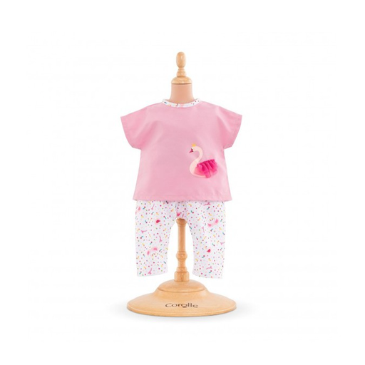 COROLLE COROLLE OUTFIT SET -  SWAN ROYAL FOR 14 INCH BABY DOLL