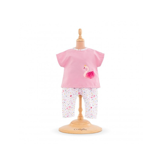 COROLLE COROLLE OUTFIT SET - SWAN ROYALE FOR 12-INCH  BABY DOLL