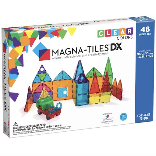 MAGNA-TILES MAGNA-TILES CLEAR COLORS DX 48PC