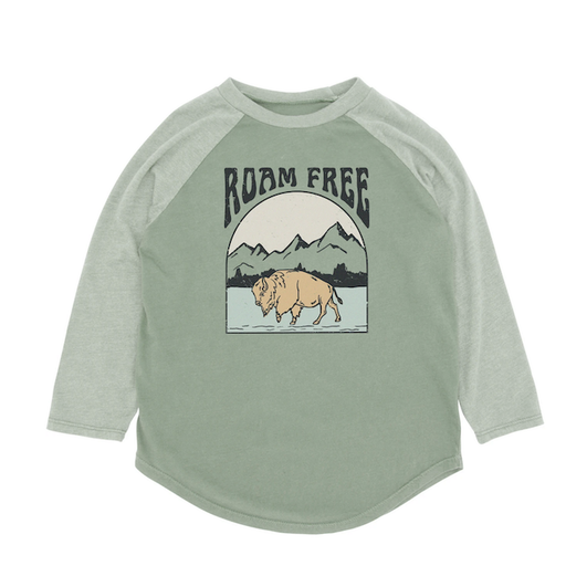 FEATHER 4 ARROW ROAM FREE LONG SLEEVE RAGLAN