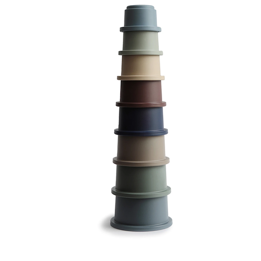 MUSHIE STACKING CUPS TOY  IN FOREST