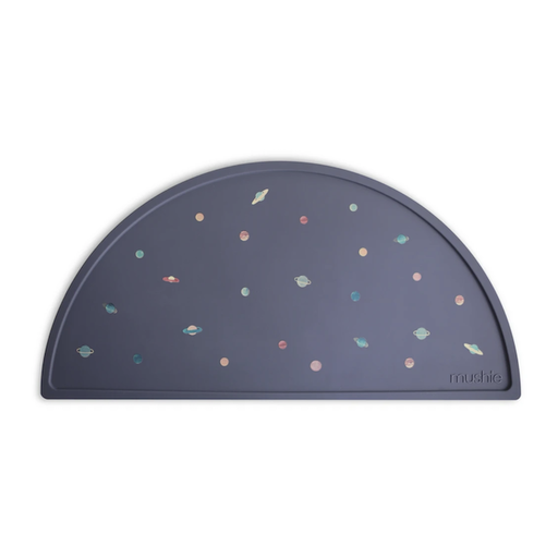 MUSHIE SILICONE  PLACE MAT-PLANETS