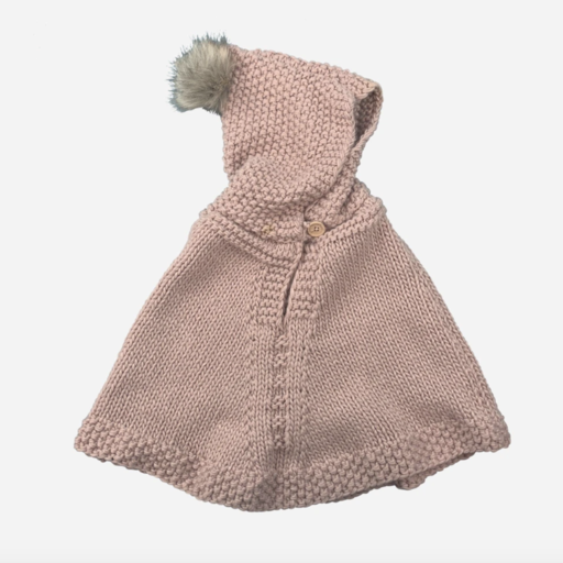 THE BLUEBERRY HILL PONCHO WITH HOOD