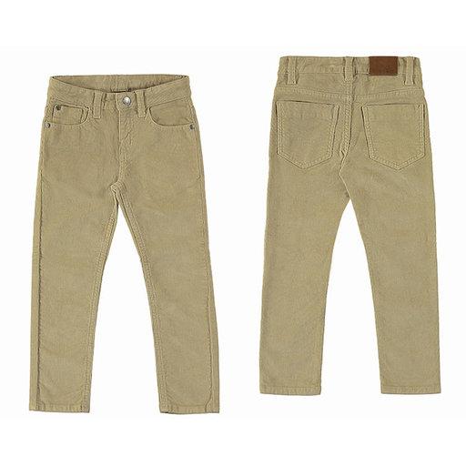 BASIC SLIM FIT CORDUROY PANT