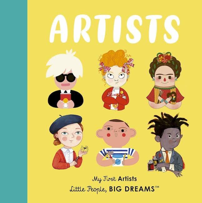 HACHETTE MUDPUPPY ARTISTS - MY FIRST ARTIST LITTLE PEOPLE BIG DREAMS BOOK