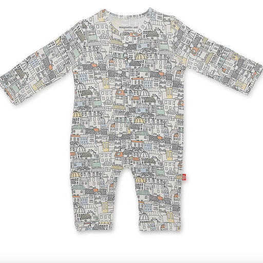 MAGNETIC ME WE BUILT THIS CITY MAGNETIC COVERALL
