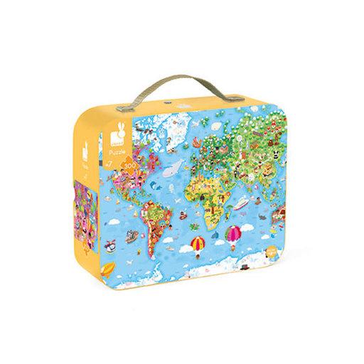 JANOD GIANT WORLD MAP 300 PC