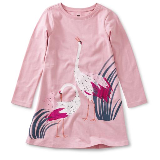 Tea CRANE T-SHIRT DRESS