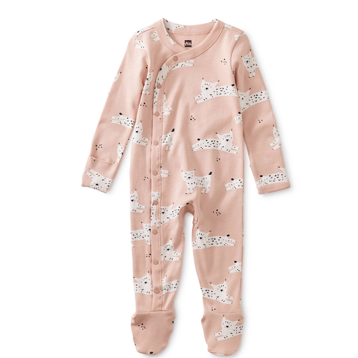 Tea FOOTED BABY ROMPER