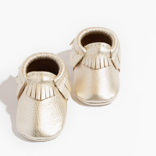 FRESHLY PICKED PLATINUM CLASSIC MOCCASIN