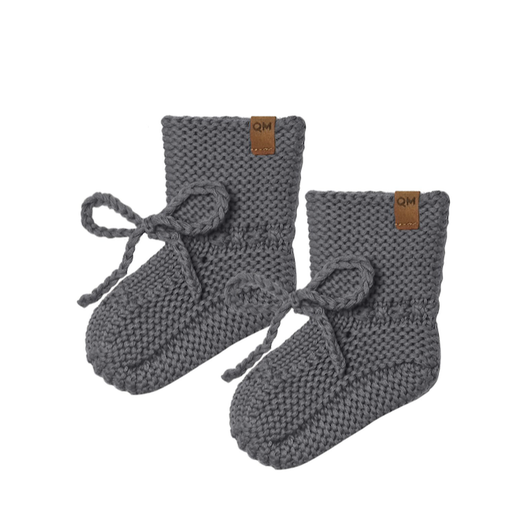 QUINCY MAE ORGANIC KNIT BOOTIES