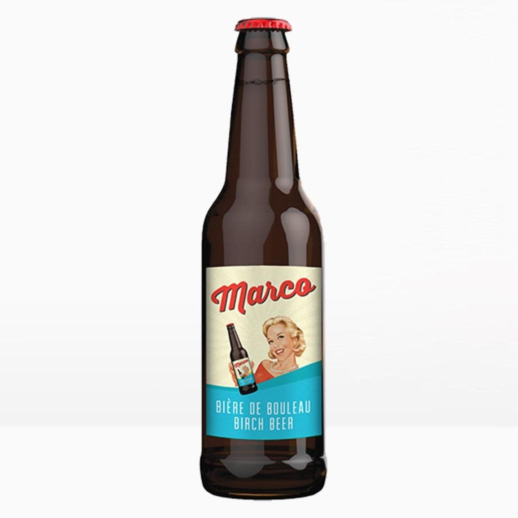 Sodas Marco-Bière de Bouleau