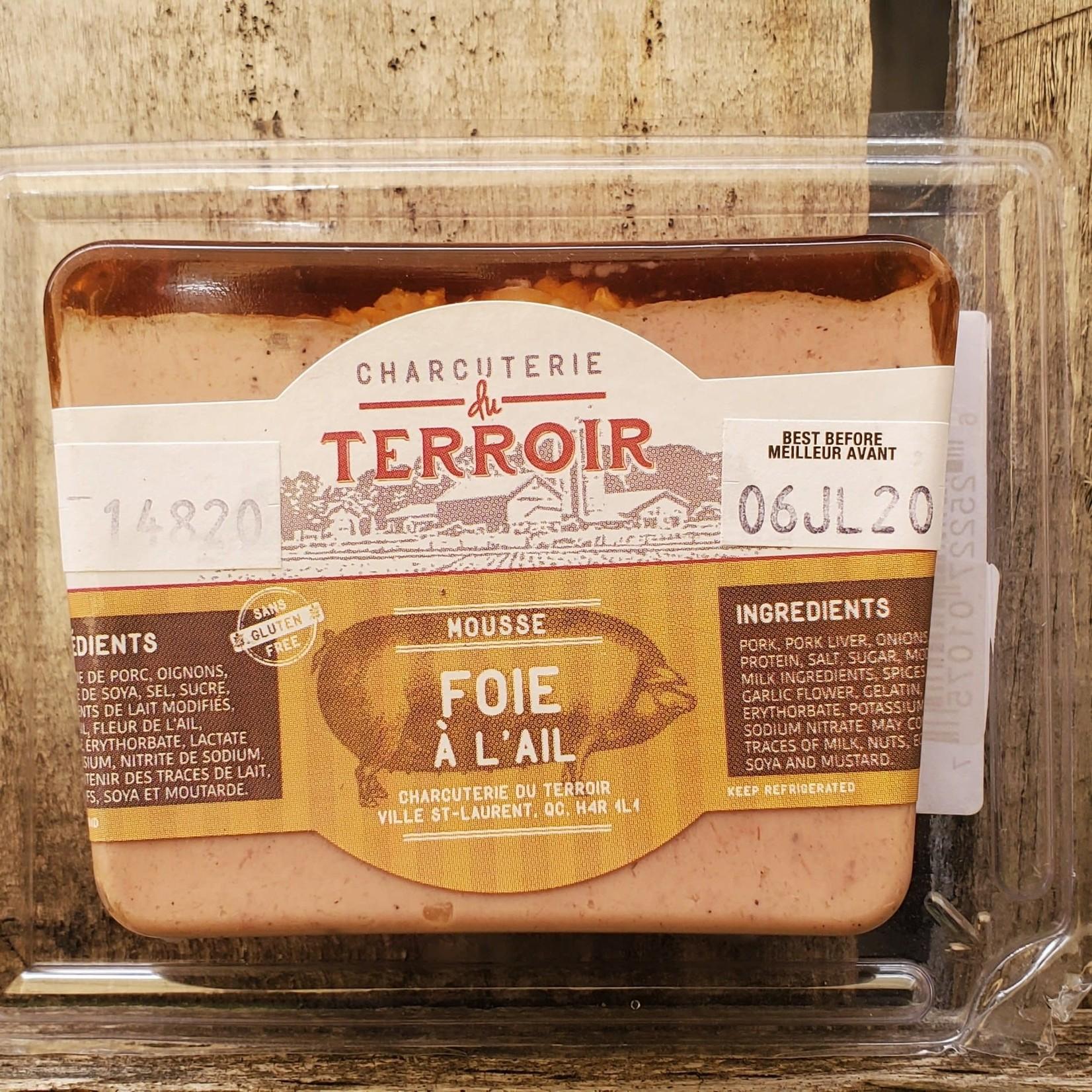 Mousse - Foie à l'ail