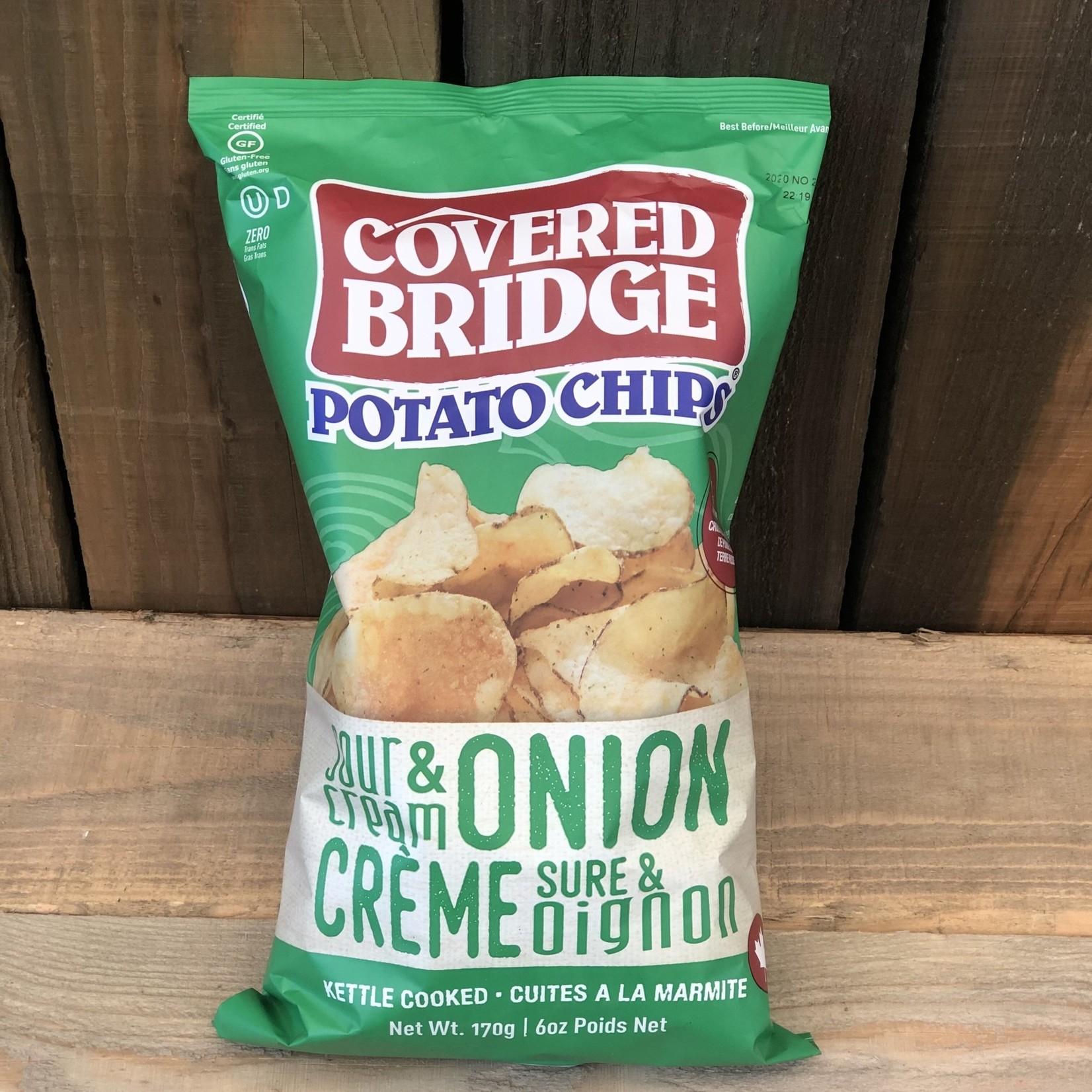 Chips Crème Sûre et Oignon